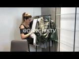 Ксения Бородина смывает с себя всю косметику перед мастер-классом Сердара Комбарова