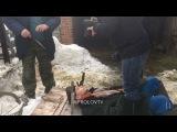 Семён Фролов - Снимаем сцену с ножами для нового клипа