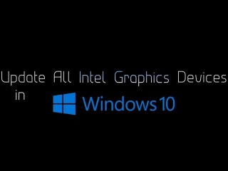 Update Intel HD / Iris Graphic Drivers, Windows 10, Error: Operating System Not Supported