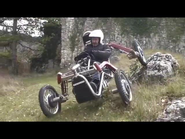 Electric Spider Car Off Road - Behind The Wheel