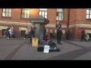 кавер Green Day  - When September Ends (The Railroads, уличные музыканты, Питер)