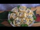 Сырные корзиночки с начинкой. Готовим вместе