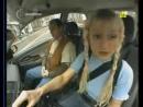 блондинко за рулем