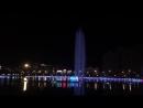 Поющие фонтаны на озере в Суйфэньхе. Красивое зрелище))
