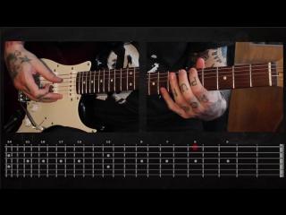 Sasha Rock'n'Roll guitar lessons - Sex Pistols (God Save The Queen) видео урок №10 tutorial