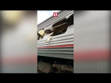 КАМАЗ протаранил пассажирский поезд под Нижневартовском