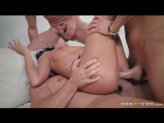 Adriana Chechik - груповой секс, оттрахали во все дырки [ANAL, DP, HARD,GROUP, шлюха,проститутка, двойной анал, в жопу]