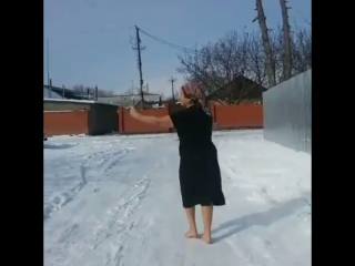 Когда на Кавказе пошёл снег