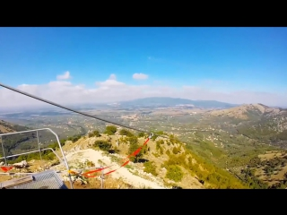 Пятерка самых длинных троллеев мира. № 1 - Volo Dell 'Angelo Zipline, Rocca Mass