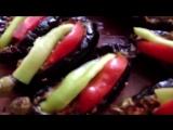 Фаршированные баклажаны.  karnıyarık. Турецкая кухня. Вкусно, полезно и просто!