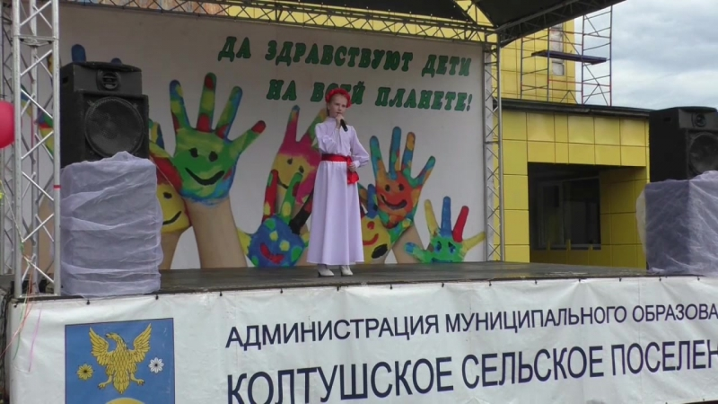 Солистка ансамбля Узорица Харлова Варвара