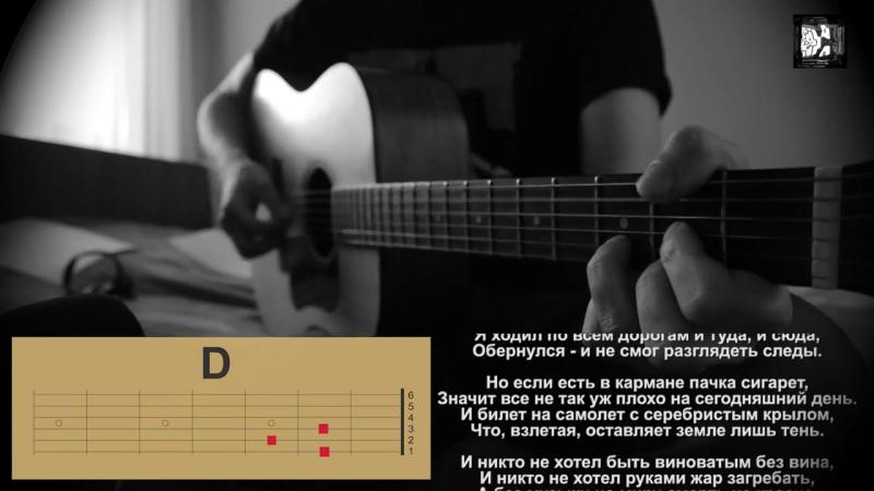 Кино (Цой) - Пачка сигарет.Как играть песню, аккорды, текст, кавер.