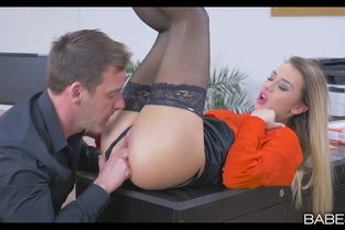OfficeObsession – Katrin Tequila – She Gets The Job
