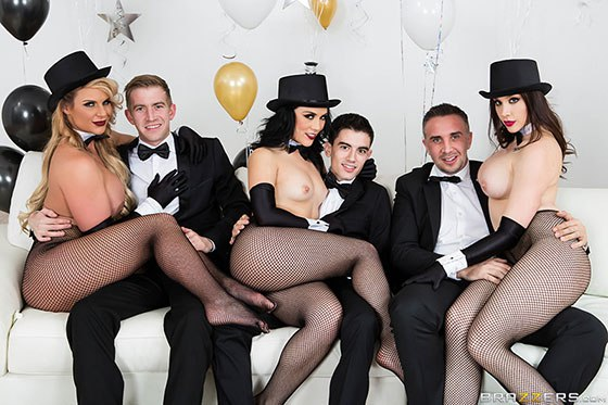 Brazzers New Years Eve Party