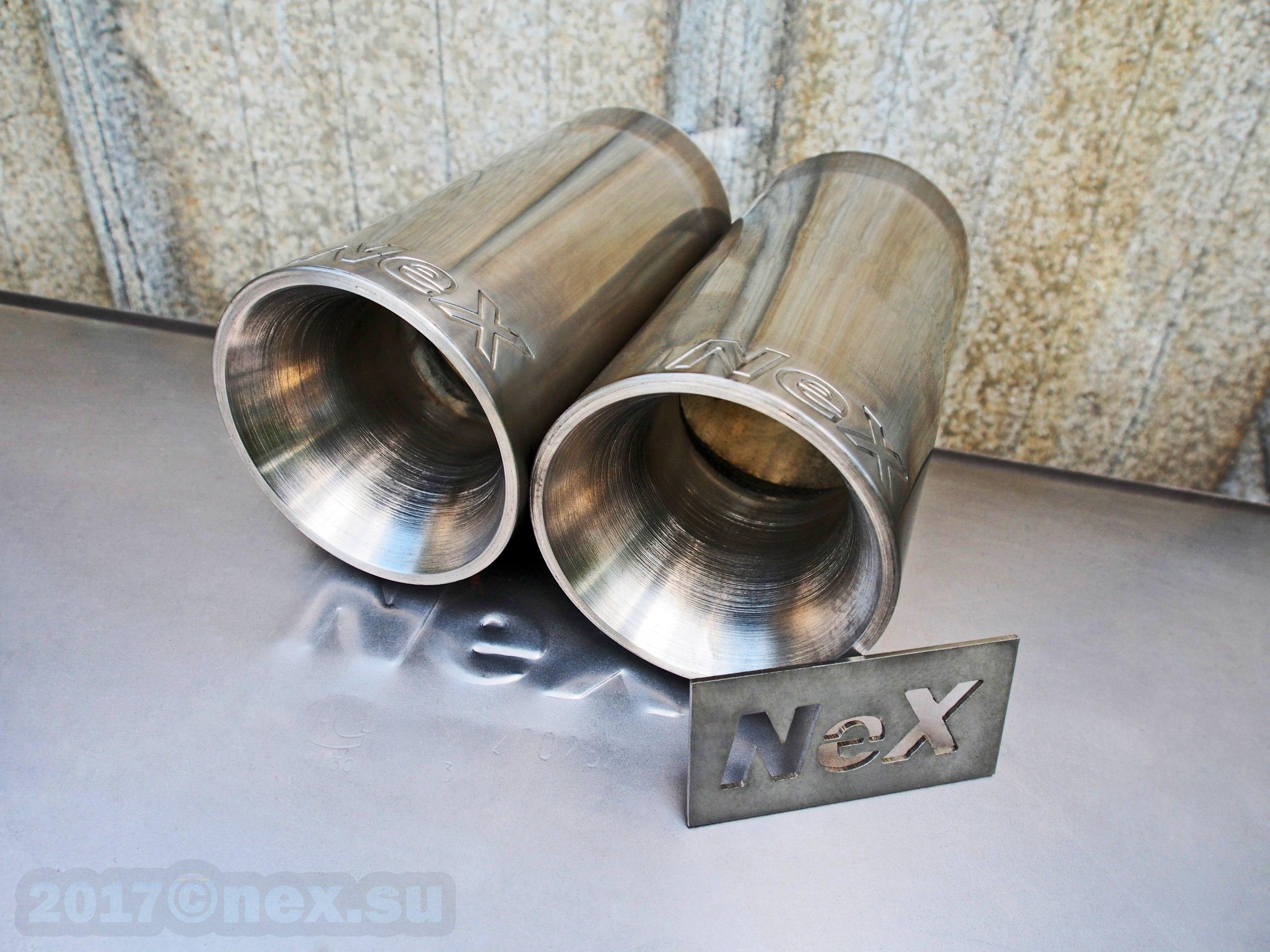 Новая маркировка NeX® насадок Ø 76 мм.