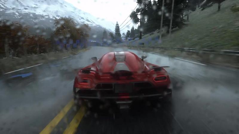 Тест Koenigsegg Agera R,самый лучший дождь из всех игр про гонки