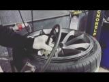 Бортировка колеса;)