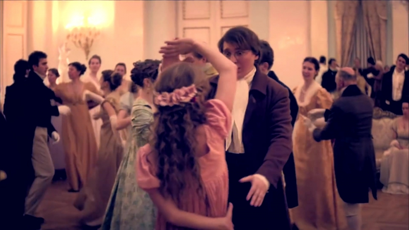 Война и мир / War and Peace (2016) (Андрей / Наташа / Пьер) - Cant help falling in love