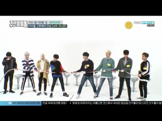 170329 Weekly Idol ep 296 Highlight and KNK (KNK cut)