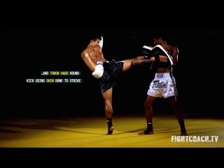 Раундхаус кик.Биомеханика и техника ударов.Тайский бокс//STRONG DIVISION