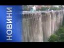 Грізна стихія «познущалася» над Кам'янцем: місто побив град і затопила злива
