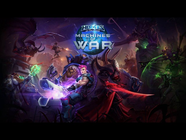 Machines of War Music OST (Complete) - Heroes of the Storm Music