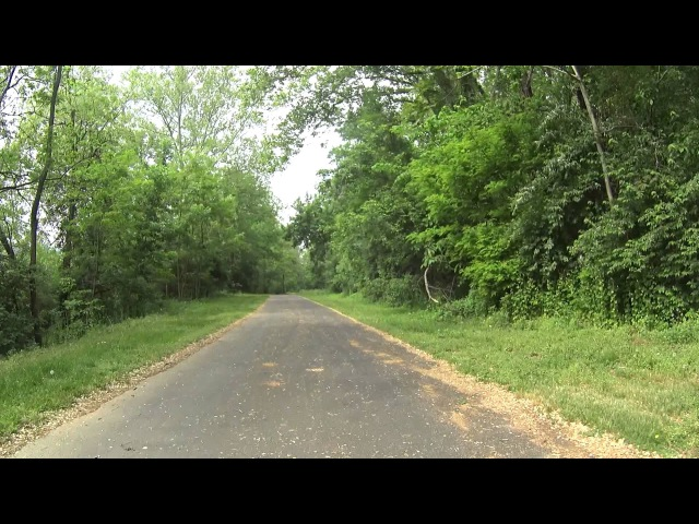 Virtual Bicycle Ride - DL Rail Trail Allentown To Eason PA [May 17, 2015]