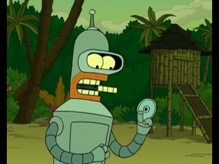 Futurama Bender dance x15