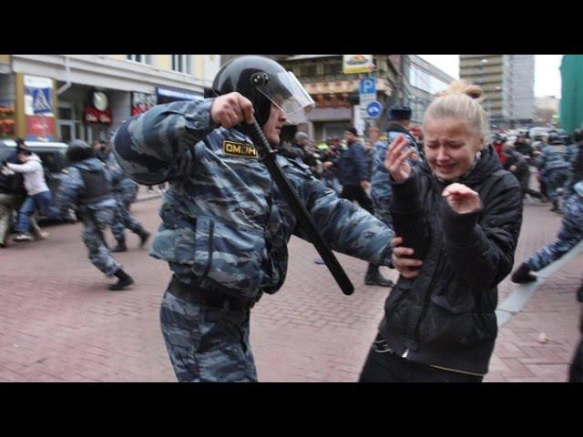 Путинским ментам - последнее китайское предупреждение!