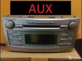 Как вывести AUX из штатной магнитолы Toyota Camry v40 ??? !!!