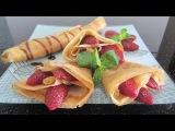 Рецепт крепов clip hướng dẫn cách làm bánh Crepe   công thức làm bánh xèo Pháp   dậy làm Crepe  