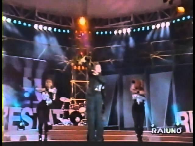 Cappella Move On Baby Live RAI1 Un Disco Per L estate Riccione 94