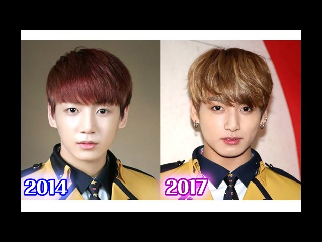 [꿀잼추천]방탄소년단 정국 고등학교 입학식과 졸업 후의 얼굴 비교영상 feat 망