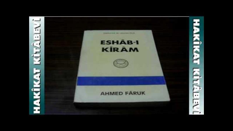 ESHAB-I KİRAM kitabı | 1.Fasl
