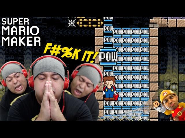 THESE LEVELS ARE BULLSHT!! [SUPER MARIO MAKER] [58]