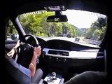 Eine Runde im BMW M5 Ringtaxi mit Sabine Schmitz
