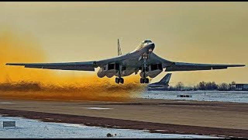 ПОЛНЫЙ ПИ@Ц ТУ -160 БЕЛЫЙ ЛЕБЕДЬ НА ПОЛНОМ ФОРСАЖЕ! НЕТ СЛОВ! THE TU -160 WHITE SWAN