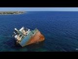 Мыс Тарханкут, Крым. Красивое видео, снятое с воздуха. Cape Tarkhankut, Crimea. Aerial video.