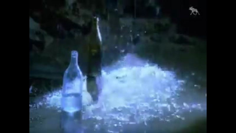 Заставка конца эфира (НТВ, 2002-2003) Бутылки