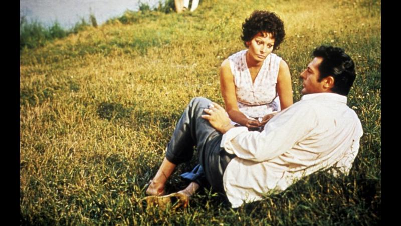 I girasoli (Sofia Loren, Marcello Mastroianni)