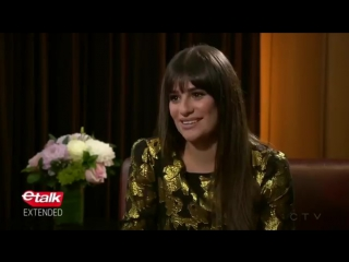 Lea talks Celine Dion love, Instagram 'bed series,' and advice to her younger self