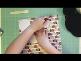 DT Scrapbumazhka-TUTORIAL-Mickey Mouse mini album-Magical Adventure-Echo Park-МК-Альбом Микки Маус