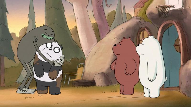 Белый не осудит (We Bare Bears / Мы обычные медведи 3х10)