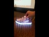 Кроссовки со светодиодной подсветкой Фаберлик