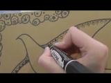 Уроки рисования для детей (орнамент)