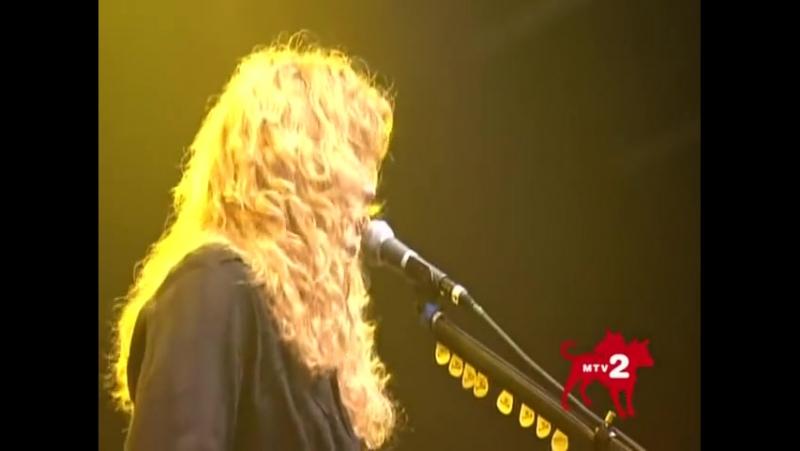 Megadeth - Sweating Bullets - Live @ Epiphone Revolver Golden Gods Award