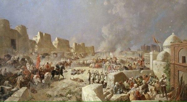 Во время войны России против Бухарского эмирата