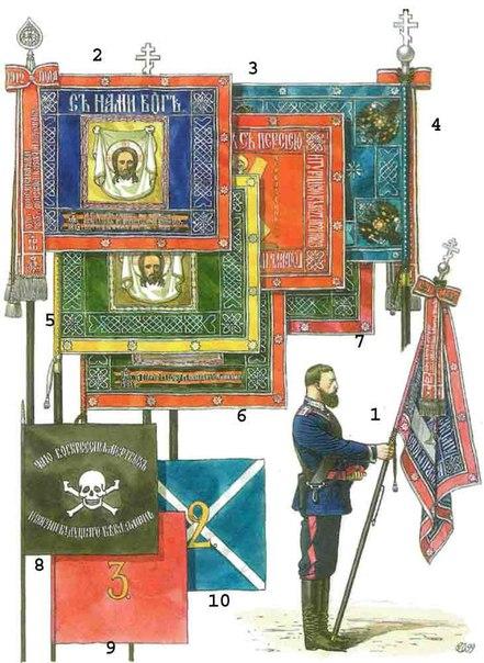 Знамена казачьих полков
