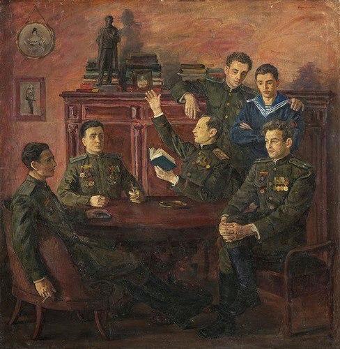 «Групповой портрет потомков А.С.Пушкина — участников Великой