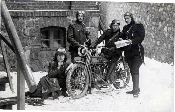 Мотоциклы Русской императорской армии